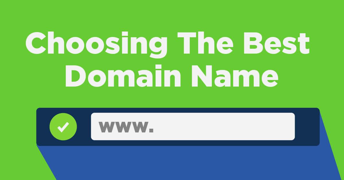 انتخاب نام دامنه مناسب برای سایت