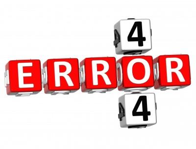 تاثیر خطای 404 در سئو